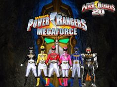 Power Rangers 20- Megaforce by ThePeoplesLima on DeviantArt