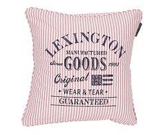 Funda de cojín de algodón Oxford, rosa - 50x50 cm