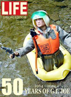 Faux 'Life' magazine cover for Vintage GI Joe