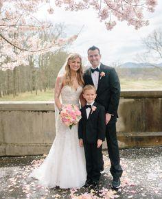 The Knot Dream Wedding at Biltmore for Boston Marathon bombing survivors.