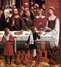 Marriage at Cana, Master of the Catholic Kings c. 1495/1497, National Gallery of Art, Washington