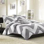Luxury Home Chevron Comforter Set & Reviews | Wayfair