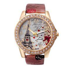 5cf1483dd24a Encontrar Más Relojes de moda Información acerca de Torre Vogue nuevas  mujeres forman brillante imitación de