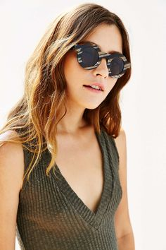 Dusen Dusen Circle Frame Sunglasses - Urban Outfitters