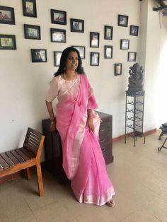 Palm Henna Designs, Saree Blouse, Sari, Saree Trends, Indian Heritage, Casual Saree, Printed Sarees, Saree Styles, Indian Sarees