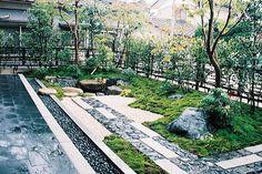 Dry Garden, Gravel Garden, Moss Garden, Garden Steps, Bonsai Garden, Modern Japanese Garden, Japanese Garden Landscape, Japanese Architecture, Landscape Architecture
