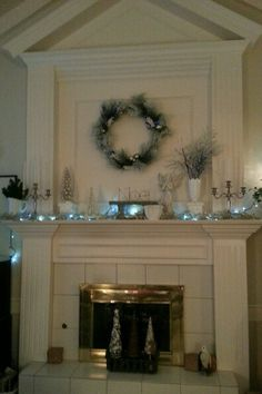 My Christmas Mantle 2013
