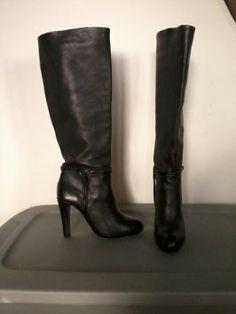 Elie Tahari Marsha Black Boots $165