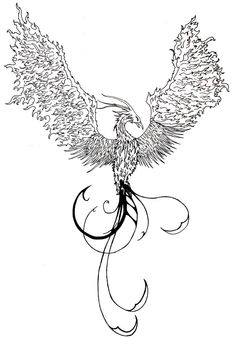 Phoenix Rising Tattoo Design By Thechaosofpeace On Deviantart Design 721x1038 Pixel