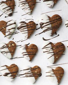 Honigkuchen-Herzen - BRIGITTE