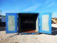 Caisson amovible et container Cassa Scarrabile (n. 20) con Copertura Rigida ad Apertura Idraulica usata Cod. 3607 de à à vendre - MachineryZone