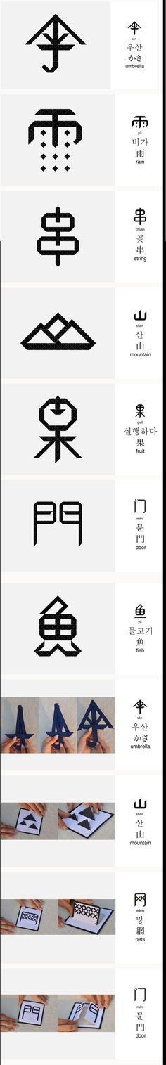 来自中国传媒大学艺术设计系康清的毕业设计。这是一个关于汉字趣味化、形象化的设计,每一张卡片都力图讲述汉字的起源,以及其字面意思所在,希望对汉字学习者有所帮助!康清认为汉字不是点横竖撇捺的无意义组合,而是有故事的、有趣味的、很形象
