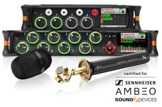 Sound Devices Announces New VR Partnership with Sennheiser Vr, Music Instruments, News, Musical Instruments