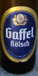 Gaffel Kölsch:   This is what I tried at tyler's it was smooth, full and yummy! (PMB)