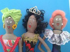 Bonecas Decorativas de Tecido