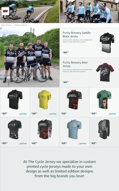 The Cycle Jersey Amazon store is now live with selected jerseys available  on Prime next day 1d001f088