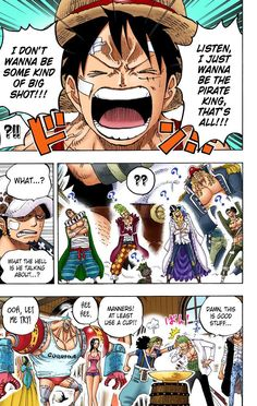 One Piece Chapter, Manga Pages, One Piece Manga, Dragon Ball Z, Anime, At Least, Serin, Zoro, Demons