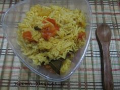 Instant Tomato Rice / Thakkali Sadam  Quick and easy to prepare. I like the tomato rice prepared by my grandma. I followed her version and my husband too now loves this tomato rice. Ingredients : 2 cup basmati rice – soaked for 20 mins 5-6 ripen tomatoes 1 cup chopped onions 2 green chilies …
