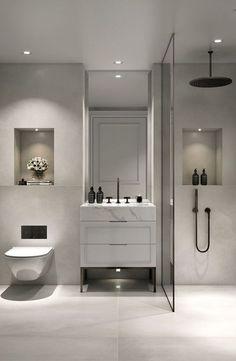 bathroom tile ideas, bathroom decoration, moder bathroom design, small bathroom ... - #bathroom #decoration #design #ideas #moder #modernbathroom #small #Tile