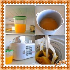 its almost summer time that means its almost time for sorbet! Orange Sorbet, I Scream, Nespresso, Summer Time, Blogging, Coffee Maker, Food, Orange Ice Cream, Coffee Maker Machine