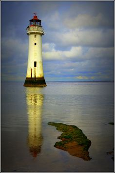 https://flic.kr/p/MRb4rM | Fort Perch Rock Lighthouse (New Brighton,Wirral) 7th October 2016 | Fort Perch Rock Lighthouse Tide rolling in fast.......Please note ALL pictures on this Photostream are Copyright Protected