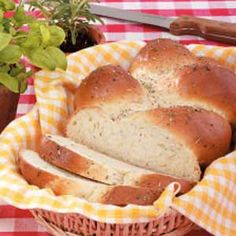 Garden Herb Braid Recipe