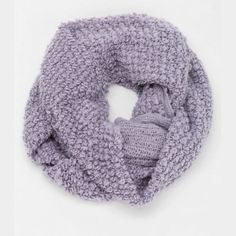 Soft infinity scarf. Brand: Staring at Stars Barely worn, lavender colored and very soft! Urban Outfitters Accessories Scarves & Wraps