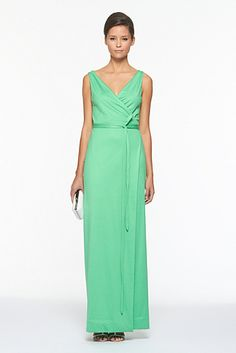 1b77aef75a7b Yazhi Straight Dress from DvF  this dress is in the very color du jour  mint.  i m not sure the model wears it well