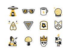 Nooklyn iMessage sticker set by Daniel Haire #Design Popular #Dribbble #shots