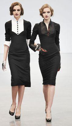 Love the crisp black & white! - DLGH