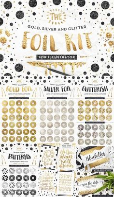 AI Gold Foil Kit Essentials + Bonus! - 863256