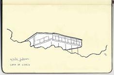 Travel Notebook: House of Glass.   Metalocus