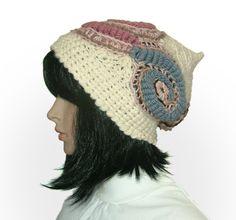 Beautiful freeform #crochet work with handspun yarn by Renate Kirkpatrick