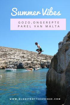 Gozo is an unspoilt gem, located northwest of Malta. It is part of the archipel of Malta. The island has many lovely beaches including San Blas Beach, Dahlet Qorrot and Xlendi Beach, is greener and less touristy than Malta. Summer Vibes, Malta Gozo, Island, Water, Beaches, Dutch, Travel, Outdoor, Holiday