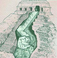 santuario el hombre de la mascara de jade y la piedra esculpida Aztec Ruins, Mayan Ruins, Ancient Ruins, Ancient History, Ancient Greek, Arte Tribal, Aztec Art, Maya Civilization, Aztec Culture