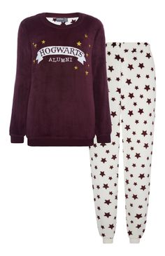 Harry Potter Star Fleece Pyjama Set
