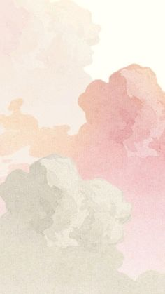 Pink Clouds Wallpaper, Watercolor Wallpaper Iphone, Bear Wallpaper, Wallpaper Ideas, Happy Birthday Wallpaper, Texture Painting, Watercolor Paintings, Backdrops, Instagram