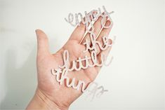 Die-cut Silhouette Handwriting with Caylee :: great step by step instructions