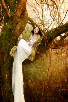 'White Dress in the Enchanted Forest' by Fantasy Photography