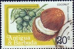 Antigua 1983 SG 799A Coconut Fine Used SG 799A Scott 714 Other British Commonwealth Stamps Here