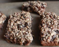Homemade Apple Pecan Granola Bars — Pack A Healthy Snack!