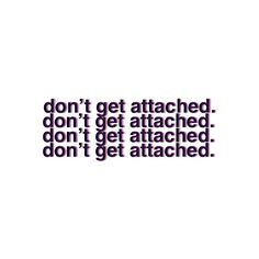 don't get attached. ❤ liked on Polyvore