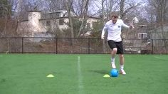 Includes a wide variety of dribbling techniques that utilize all surfaces. Cone Drills, Soccer Drills, Youth Soccer, Soccer Training, Workouts, Sports, Soccer Workouts, Hs Sports, Youth Football