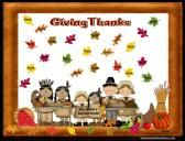 Giving Thanks Smartboard Attendance: Thanksgiving Theme product from Innovative-Resources on TeachersNotebook.com