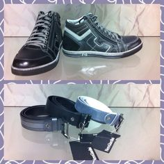 #Sneakers# e #cinture#  #Nero Giardini# collezione uomo