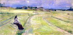 The Art from Siberia • bofransson:   Evening Edvard Munch - 1888