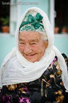 98 year old Uzbek woman. Samarkand, Uzbekistan