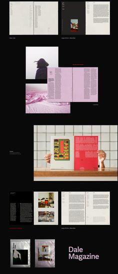 Dale magazine. on Behance