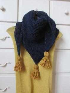 Crochet Cardigan, Crochet Scarves, Knit Crochet, Knitting Projects, Knitting Patterns, Shawl, Knitwear, Sewing, Scarfs