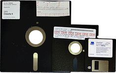 floppy disks from back in the day before memory cards and happy sticks...